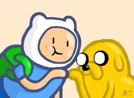 Finn and Jake by BThomas64