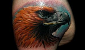 eagle by redliontattoo