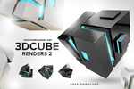 Stylish Cube Renders Pack 2 by DesignerCandies