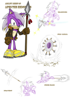 Apus the Hedgehog - Abilities by Khazam