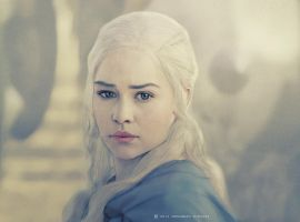 Game of Thrones's Emilia clarke 2 by MohammadMirzaee