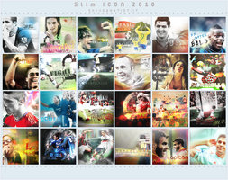 Icons wall by Slim by SoccerArtist2010