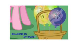 Ballons in My Basket Cover by Rone20