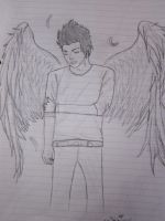 Adam Lambert with wings by Mrmr-Hearts-Every1