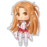 Chibi Asuna by FigureEight