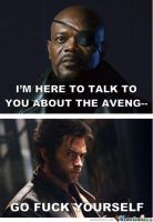 wolverine, how could you NOT been in it? by Anjajay1