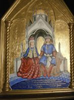 Ducal Triptych - Central Panel by Merwenna
