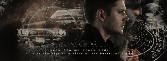 Dean Winchester   It hurts, but it's ok...I'm used by N0xentra