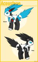 Fake pokemon: Acousteon by Neon-Juma