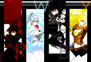 RWBY- Wallpaper Ensemble by Dane-of-Celestia