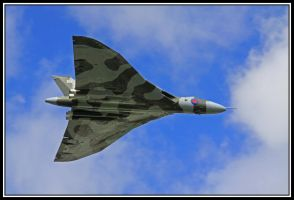 Vulcan With Blue Sky by lizzyr