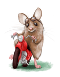 The Mouse and the Motorcycle by DamonWestenhofer