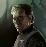 Bill Adama by andromoda