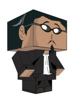 HARIMA SCHOOL RUMBLE PAPERTOY by animepapertoys