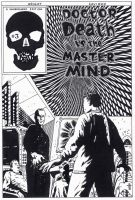 Dr Death vs the Master Mind Cover by kaviart