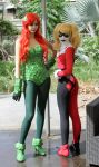 Poison Ivy and Harley Quinn Cosplay - Batman : TAS by SailorMappy