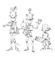 Bots Family by Eyth