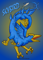 Skybird by kjmarch
