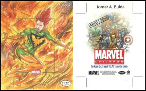Marvel universe Artist proof 1 by orphanshadow