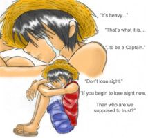 'It's heavy...' -W7 Luffy- by Dreamwish
