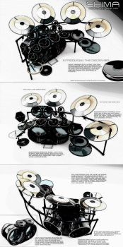 Shima drums. by Steel-Razors