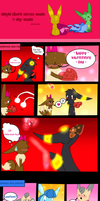 Super short eevee comic V Day Comic by pinkeevee222