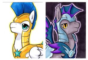 ROYAL GUARD Cards by paradox-a-go-go