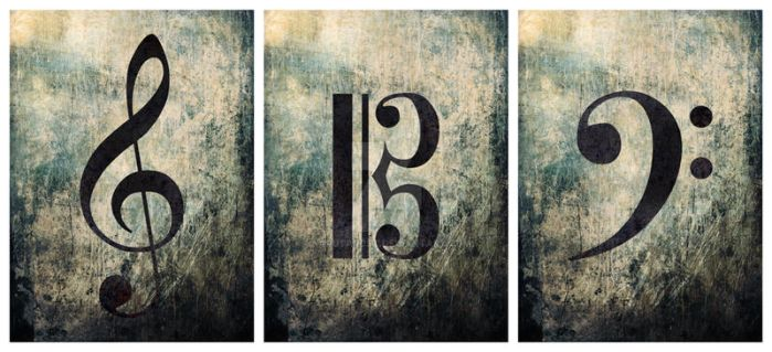 Grunge Clef Collection by NarutardST