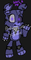 Nightmare Bonnie Plushie ver. by MiracleGirl234