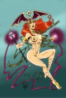 Witch Sharamia by violencejack666