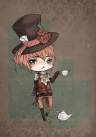 Chibi Mad Hatter by pika-chii