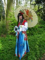 Chinese costume by Icedrop21