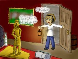 Pewdiepie and Stephano by SuzumeKirei