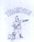 2GFA ''Thank You'' Sketch by Akril15
