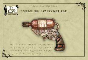 The Model No. 247 Pocket Ray by davincisghost
