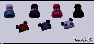 Hats pack by Mari-Ichi