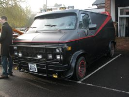 A-Team van by smevcars