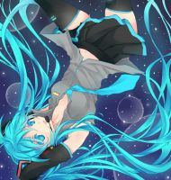 Collab: Hatsune Miku by Mellanthe
