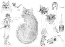 From the Sketchbook 3 by Neshomeh