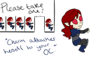 DC: *Attaches Self to your OC* by MistressTerrible