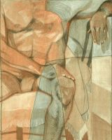 Seated figure by LaurasMuse