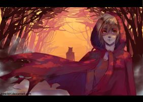Red Riding Hood by MarionetteBiri