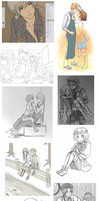 Harvest Moon RF:ToD sketch dump 2011 by annako