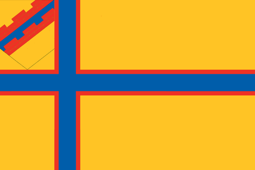 Flag of Ingria by Anarchomania