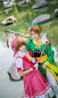 Card Captors Sakura Cosplay by RisingzRosez