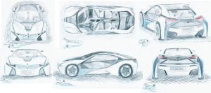 BMW Vision Efficient Dynamics by edesr