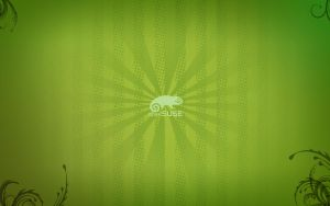 openSUSE 12.2 wallpaper by H-Thomson