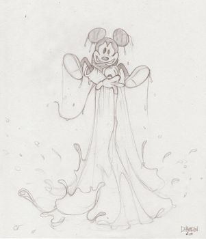 Mickey's new powers by Hamilton74