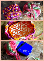 Crochet Bento Bags by Demi-Plum