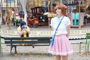 Sakura, you're so cuuute ! by Temi-Cosplay